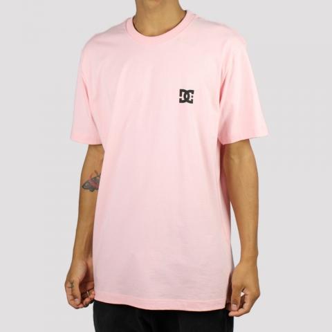 Camiseta DC Shoes 2 - Rosa Claro