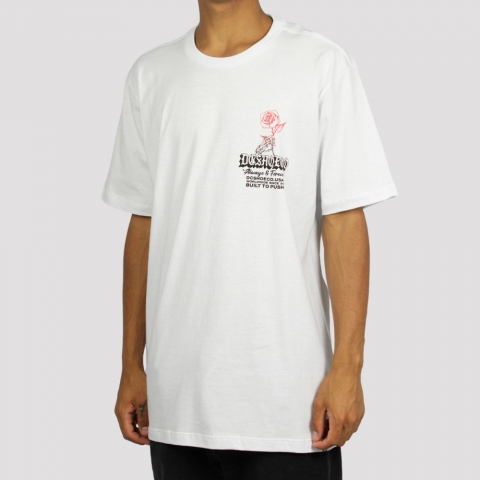 Camiseta Dc Shoes Always and Forever - Branco