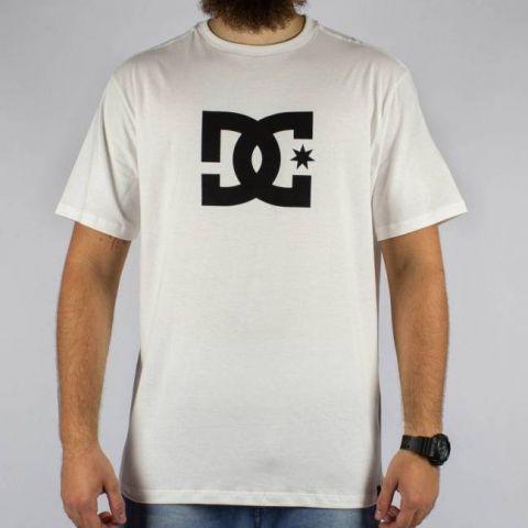 Camiseta DC Shoes Bas Star - Branca/Preta