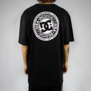 Camiseta DC Shoes Basic Circle Star FB Vivid Viola Preta