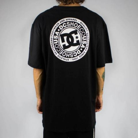 Camiseta DC Shoes Basic Circle Star FB Preta
