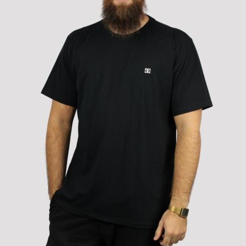 Camiseta DC Shoes Basic Logo - Preto