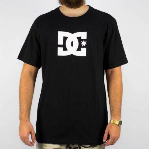 Camiseta DC Shoes Basic Star 2 Preta