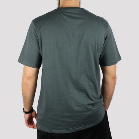 Camiseta DC Shoes Basic Star - Cinza Escuro