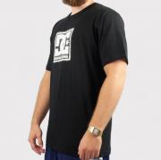 Camiseta DC Shoes Basica Pattern Box Preto/Branco