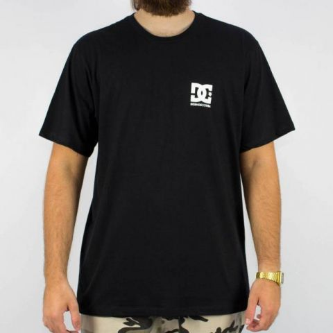 Camiseta DC Shoes Básica Star Preta