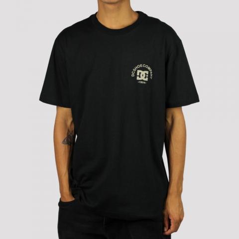 Camiseta DC Shoes Cal OG - Preto