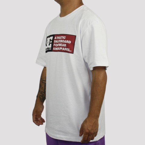 Camiseta DC Shoes Density Zone - Branca
