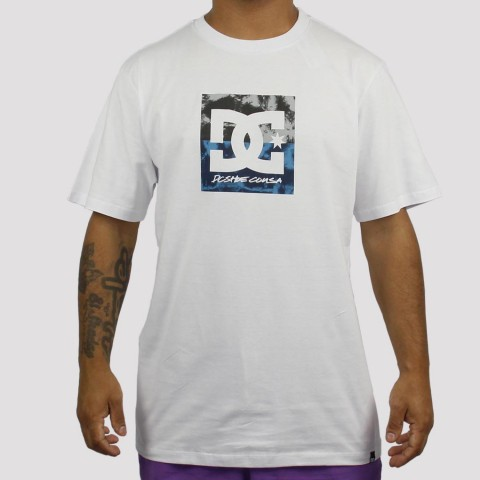 Camiseta DC Shoes Double Down - Branca