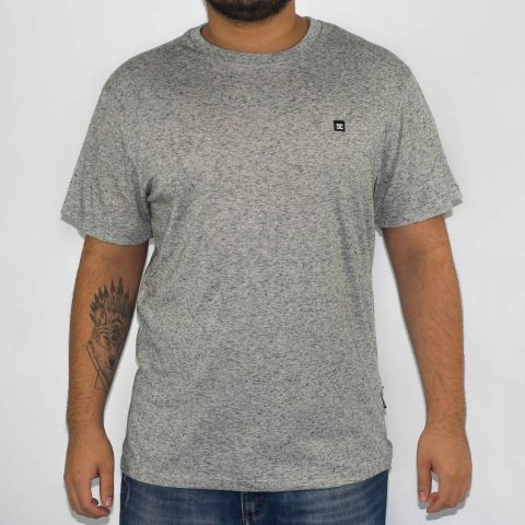 Camiseta DC Shoes ESP Linho - Cinza Heather