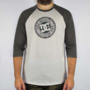 Camiseta DC Shoes M/L Research Snow Branca