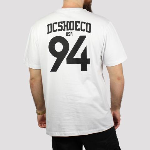 Camiseta DC Shoes Sport - Branco