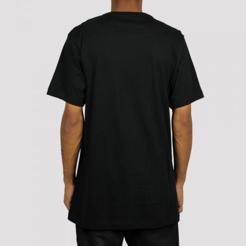 Camiseta Dc Shoes Stacks - Preto