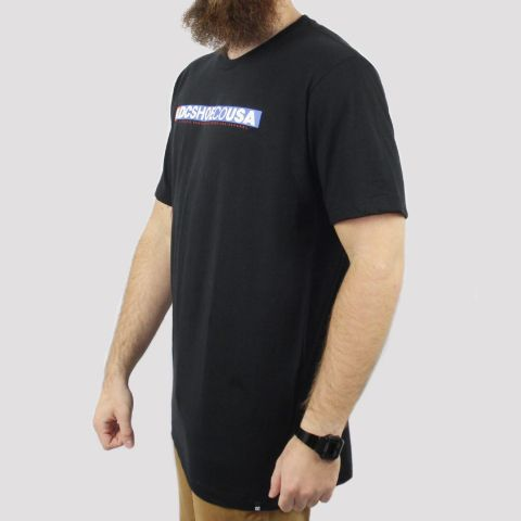 Camiseta DC Shoes Standard - Preta