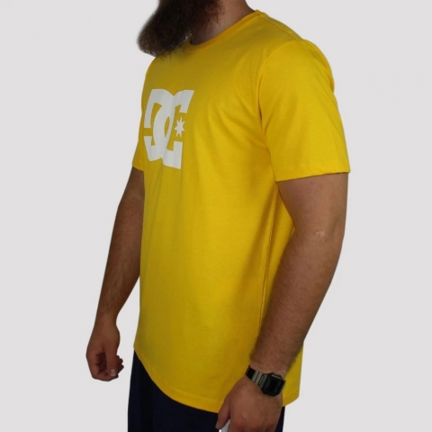 Camiseta DC Shoes Star - Amarela