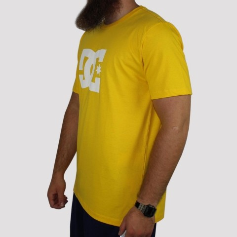 Camiseta DC Shoes Star - Amarela