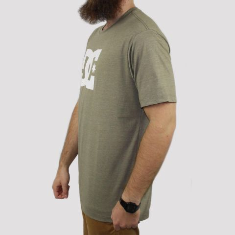 Camiseta DC Shoes Star - Verde Militar Mescla