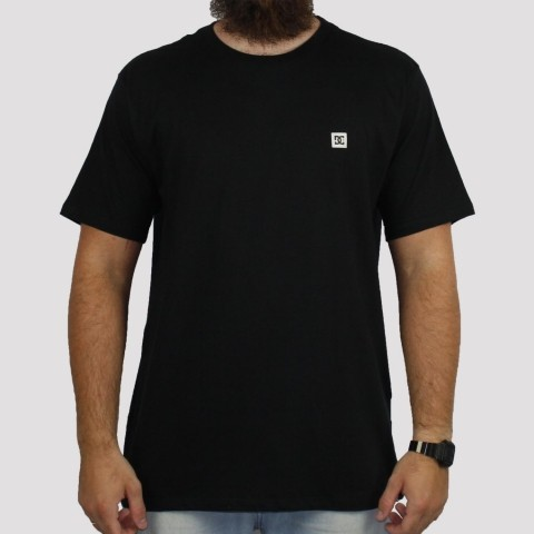 Camiseta DC Shoes Supertranfer - Preta