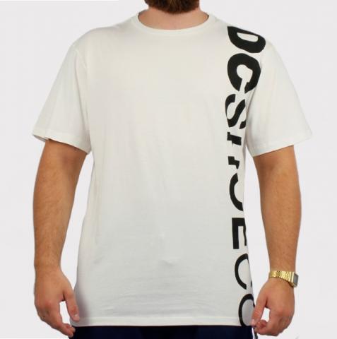Camiseta DC Shoes Wepma - Off White