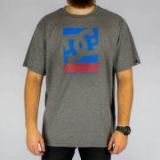 Camiseta DC Shoes Wilin - Cinza Mescla