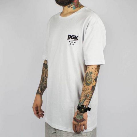Camiseta DGK All Star - White/Branca