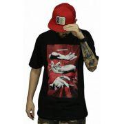 Camiseta DGK Ashes Tee Preta