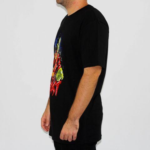 Camiseta DGK Beast Michael Jackson Zumbi - Preta