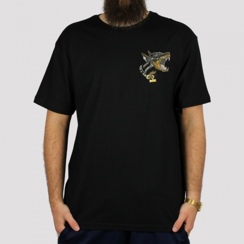 Camiseta DGK Beware - Preto