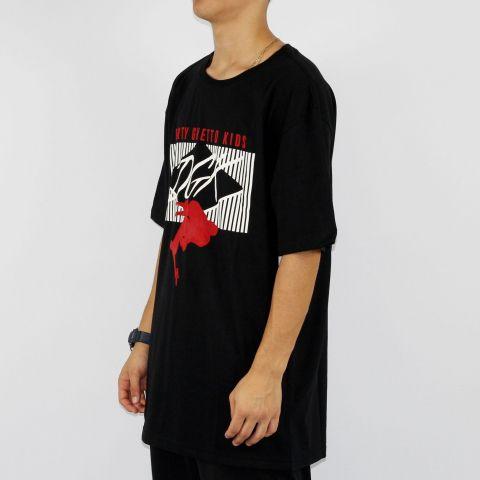 Camiseta DGK Blacktop - Preta/Branca