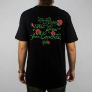 Camiseta DGK Bloom Preta