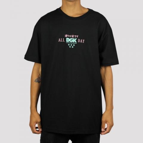 Camiseta DGK Blossom - Preto