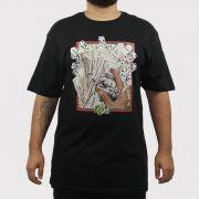Camiseta DGK Bones - Preto
