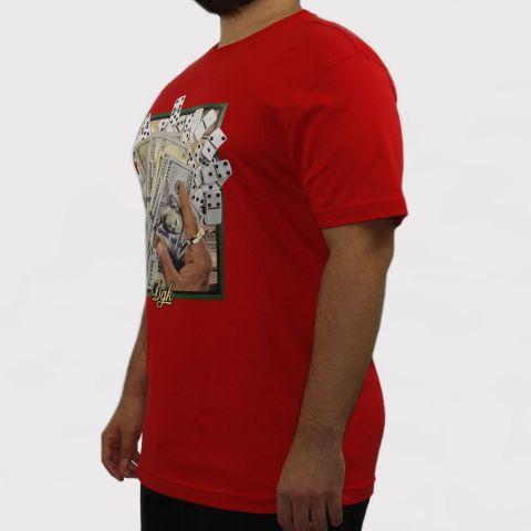 Camiseta DGK Bones - Vermelha