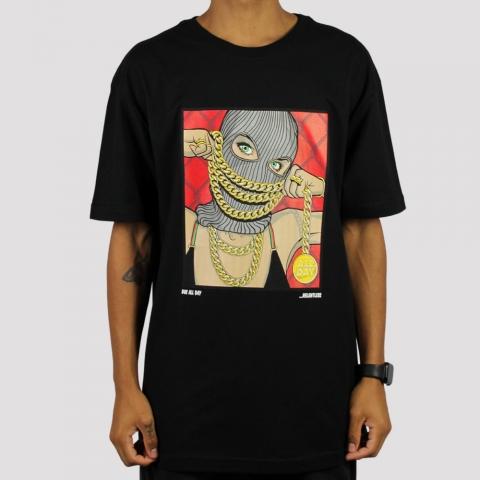 Camiseta DGK Chained - Black