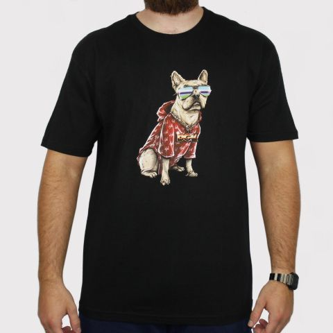 Camiseta DGK Frenchie - Preto