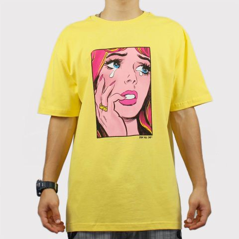 Camiseta Dgk Last Crush - Amarela