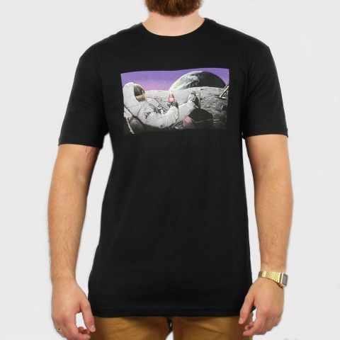 Camiseta DGK Spaced Out - Black/Preto