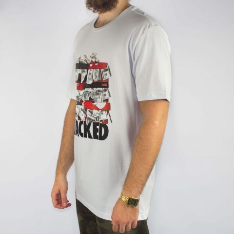 Camiseta DGK Stacked - Branca