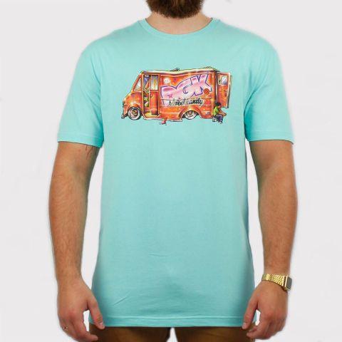 Camiseta DGK Street Candy - Azul Bebê
