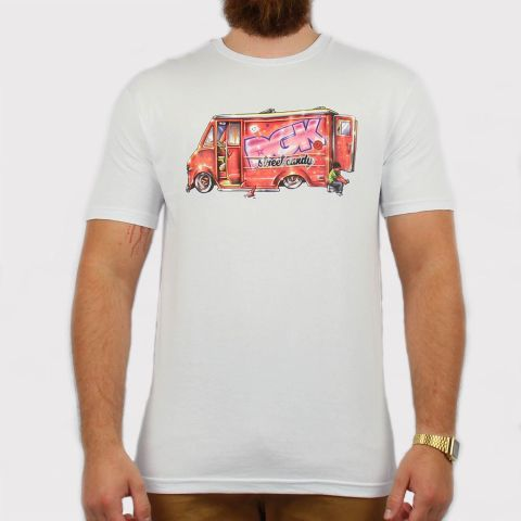Camiseta DGK Street Candy - White/Branco
