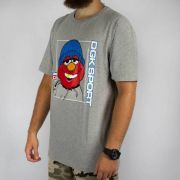 Camiseta DGK The Plug Cinza Mescla