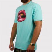 Camiseta Dgk Thirst Azul Bebê/Rosa