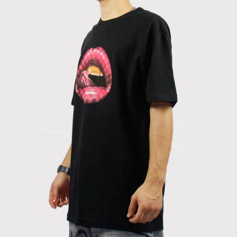 Camiseta Dgk Thirst - Preta/Rosa