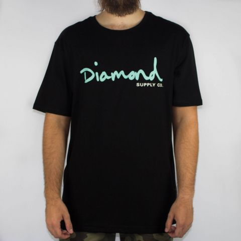 Camiseta Diamond Brillant Preta