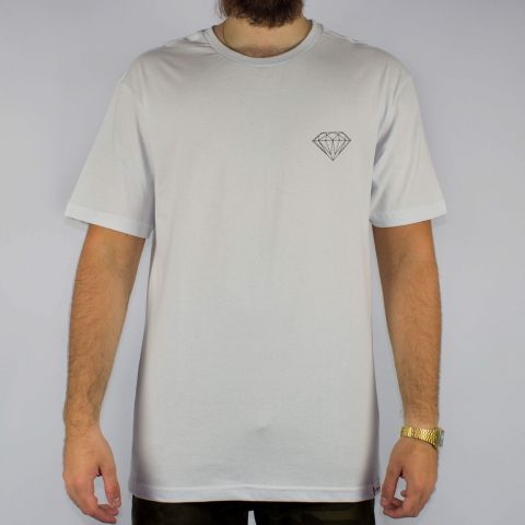 Camiseta Diamond Brilliant - Branca