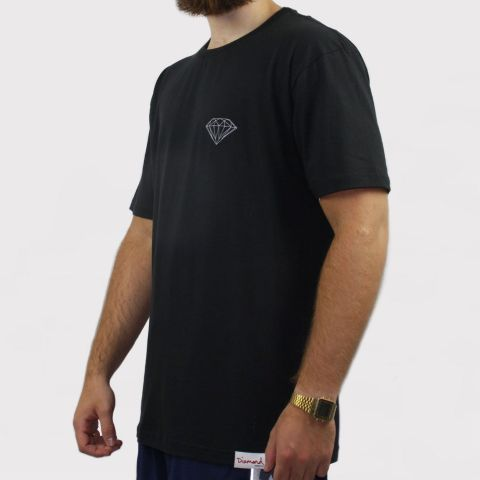 Camiseta Diamond Brilliant - Preto