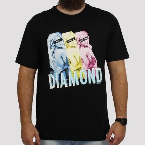 Camiseta Diamond Everyonde - Black