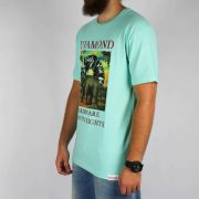 Camiseta Diamond Indigenous Tee Azul