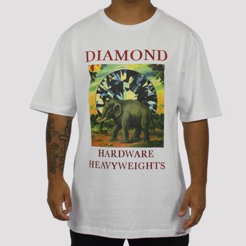 Camiseta Diamond Indigenous Tee - Branca