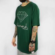 Camiseta Diamond OG Forest Green/Verde